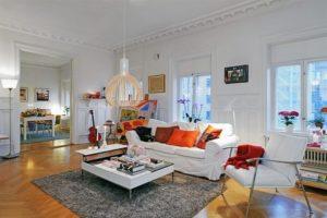 Особенности создания интерьера гостиной в скандинавском стиле