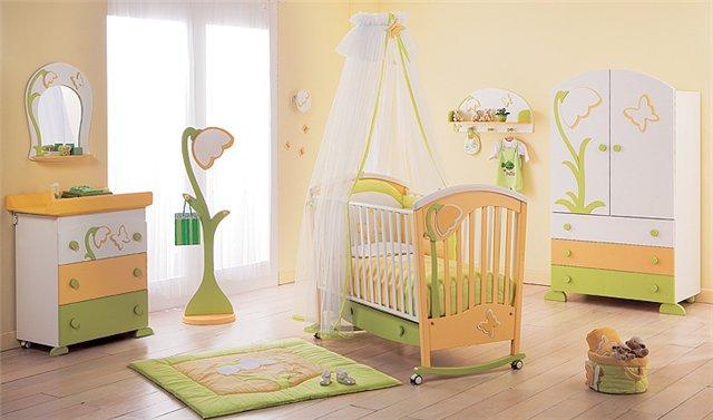 Особенности благоустройства комнаты малыша-аллергика
