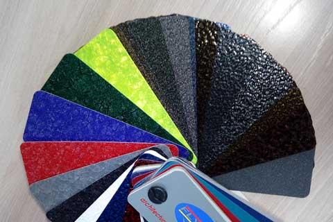 Декоративно - полимерное покрытие металла