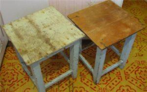 Реставрация стула методом «декупаж»