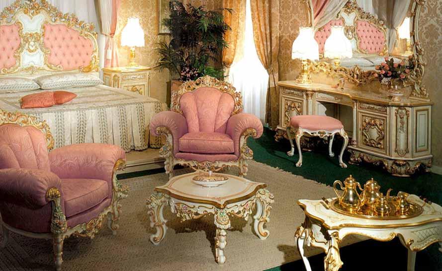интерьер комнат в исторических стилях
