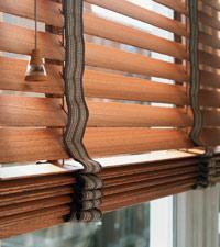 деревянные жалюзи